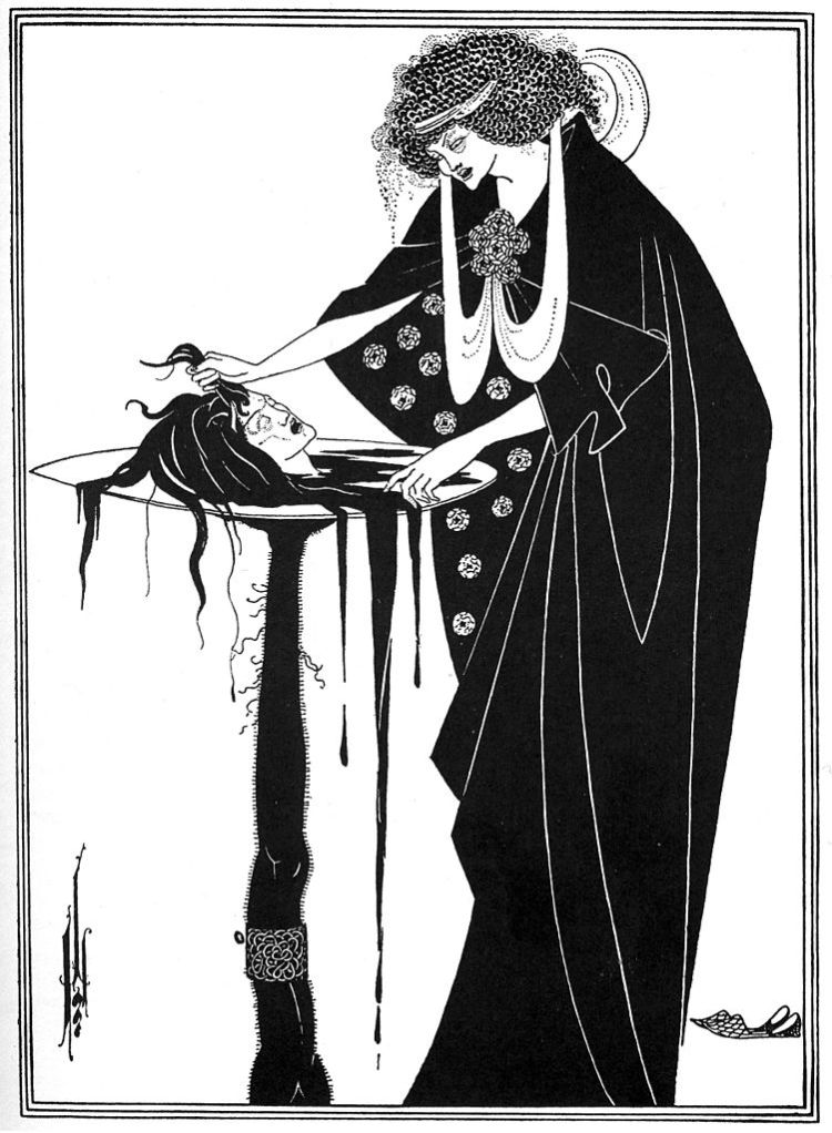 Aubrey Beardsley, the dancers reward