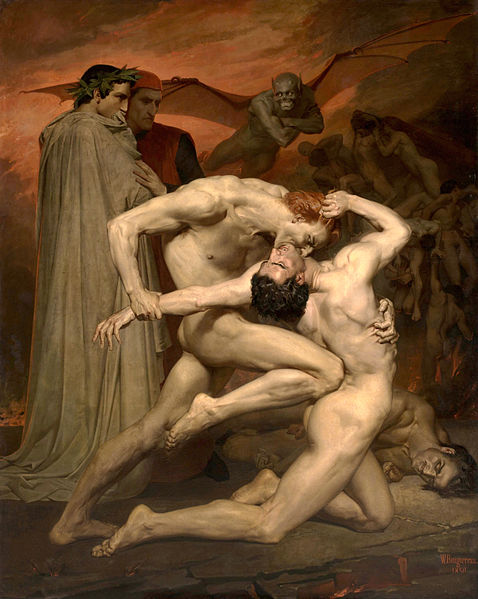 Bouguereau, Dante and VIrgil