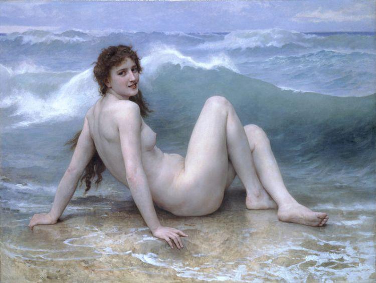 Bouguereau, the wave