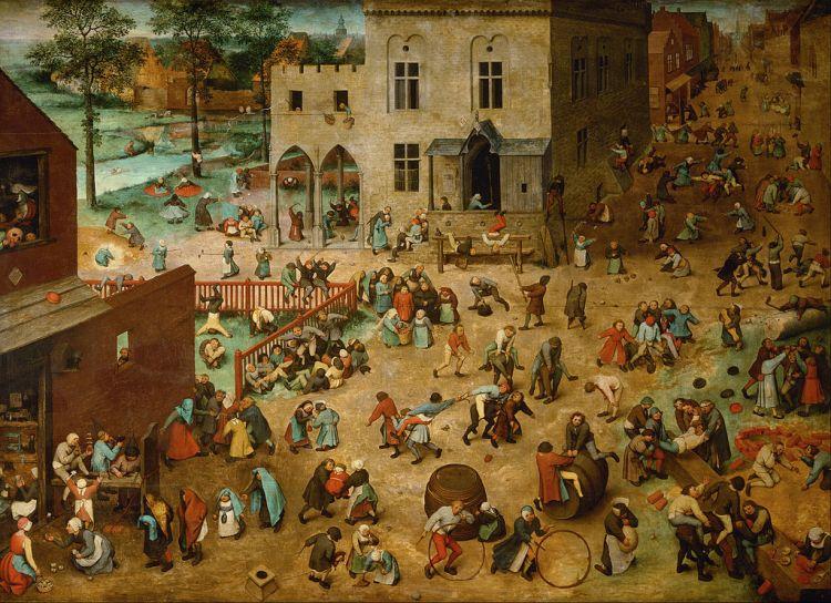 Bruegel, children's games