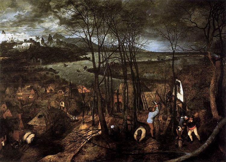 Bruegel, the gloomy day