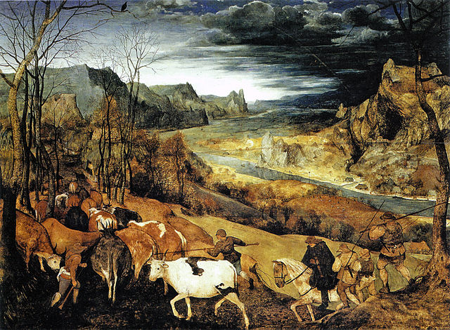 Bruegel, the return of the herd