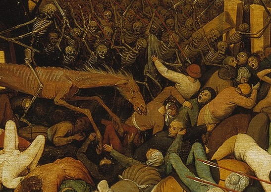 Bruegel, the triumph of death, detail