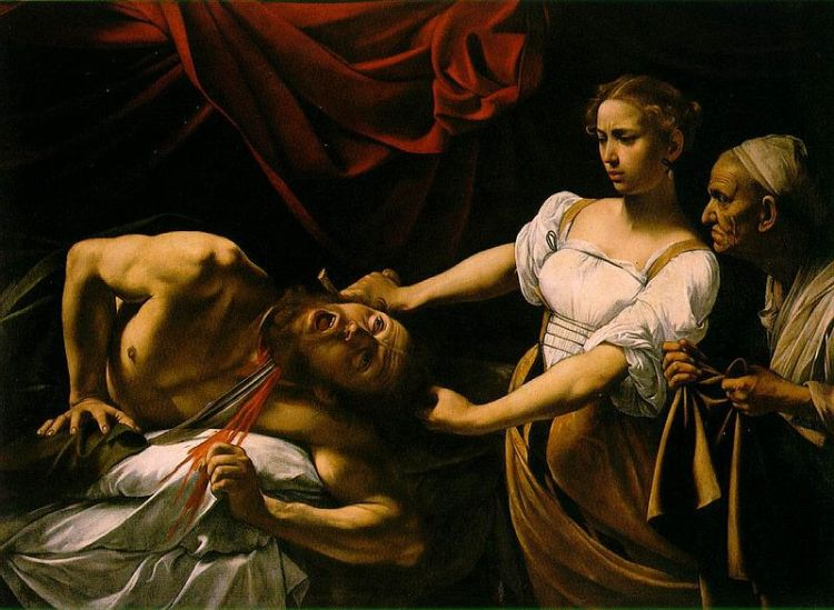 Caravaggio, Judith beheading Holofernes