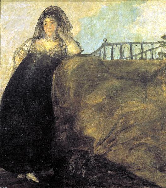 Goya, La Leocardia