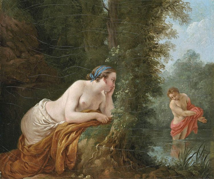 Langrenee, Echo and Narcissus