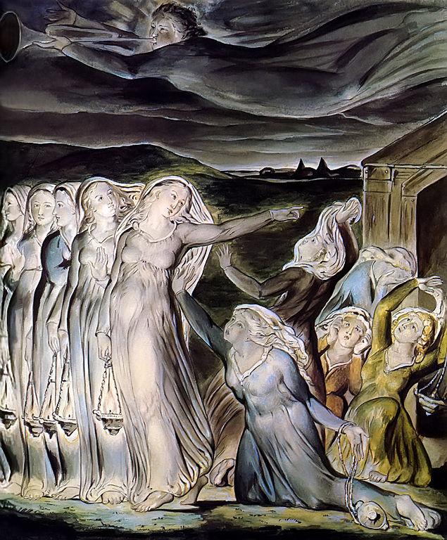 Blake, Wise and foolish virgins