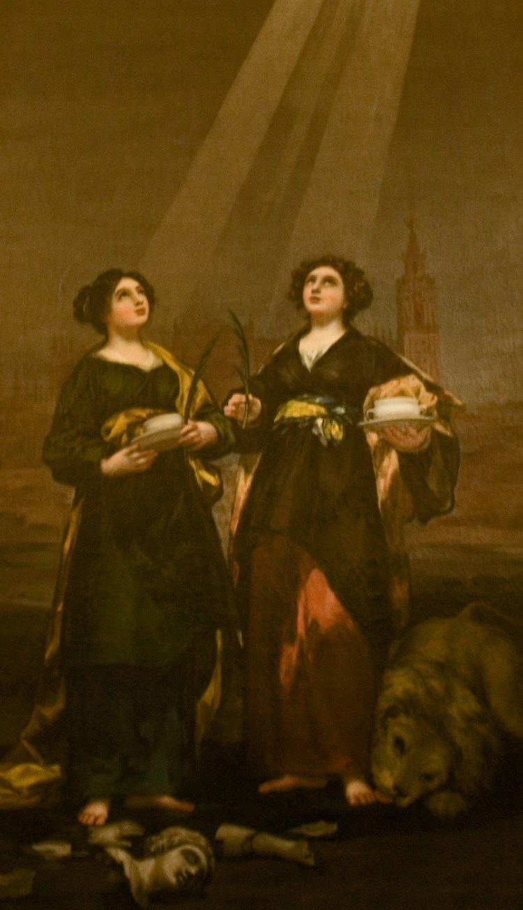 Goya, St Justa and St Rufina