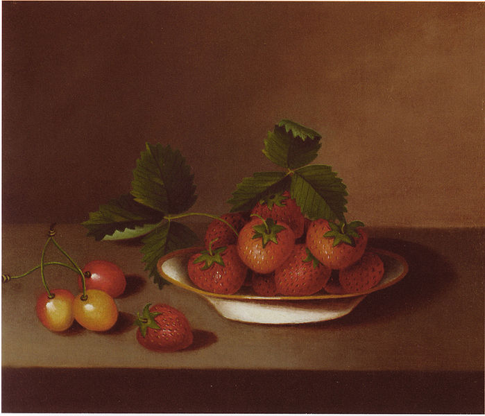 Margaretta Angelica Peale, Strawberries and cherries
