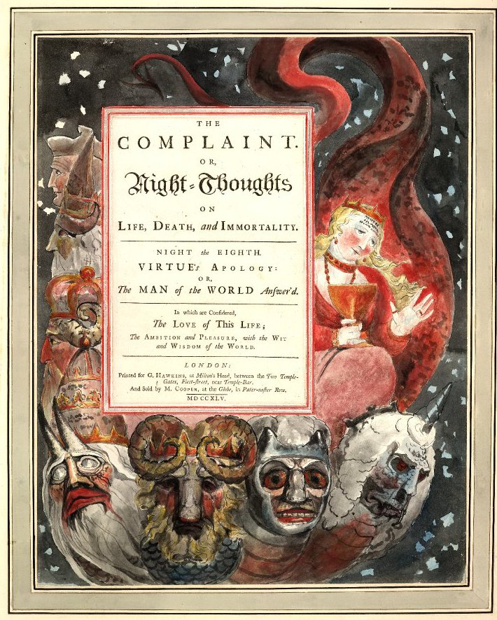 William Blake, Night Thoughts 8