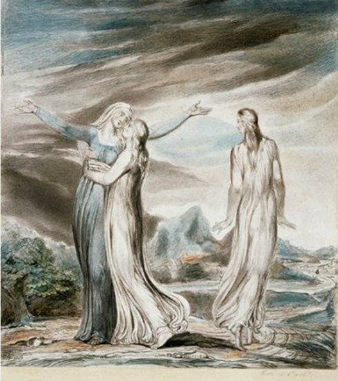 William Blake Ruth, the dutiful daughter in law