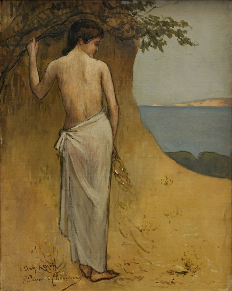 girl-on-the-beach-pierre-puvis-de-chavannes