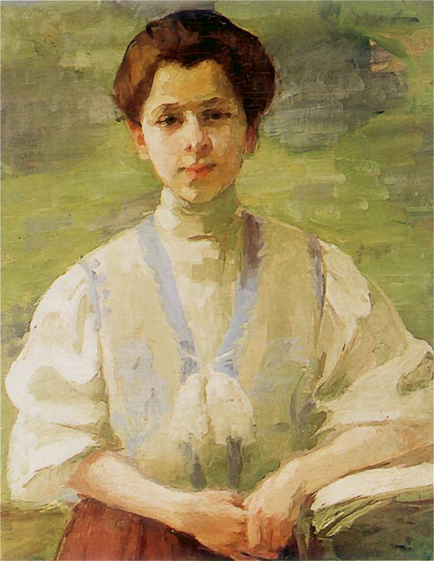 olga-boznanska-self-portrait
