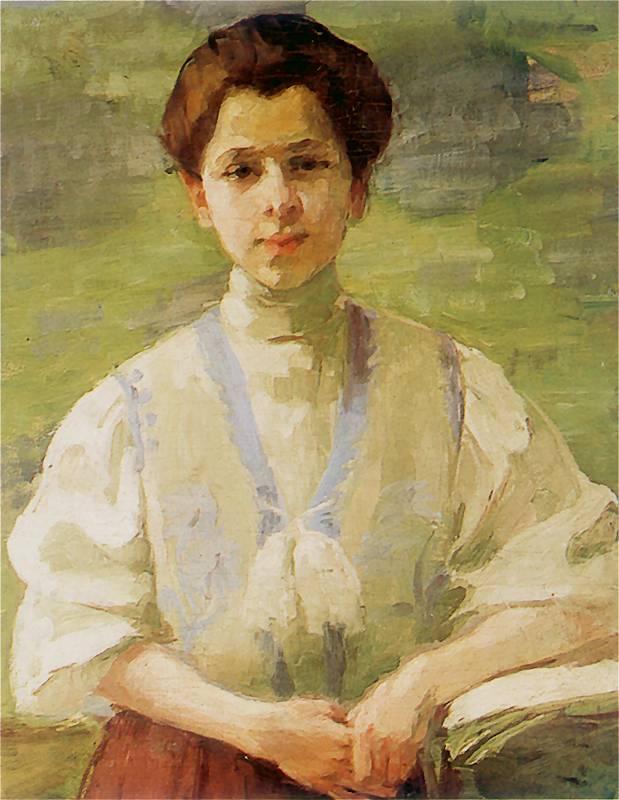 olga-boznanska-self-portrait