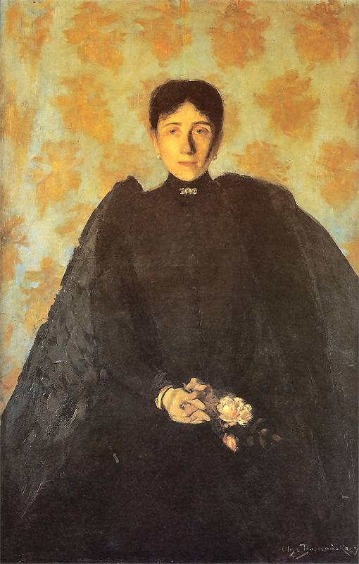 olga-boznanska-portrait-of-miss-pearson