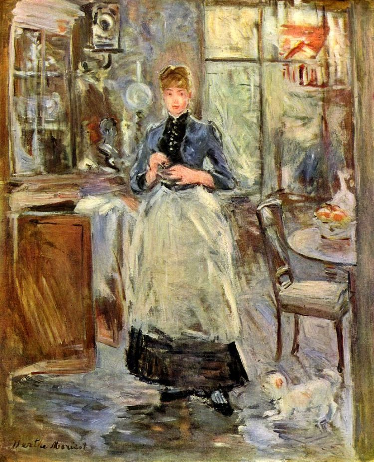 berthe-morisot-in-the-dining-room